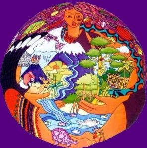 Ceremonia andina de agradecimiento a la Pachamama