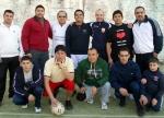 Partido de Futbol con amigos en Belvedere Langhe (Ene. 2012)