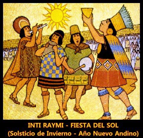 Old times inti raymi Cusco