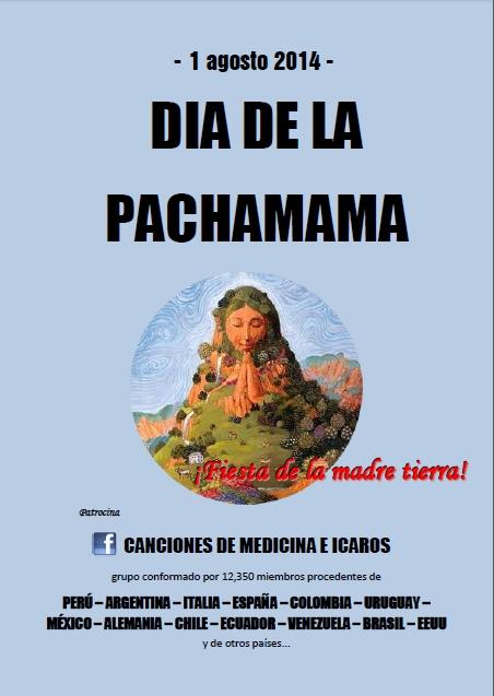 collage tapa pachamama