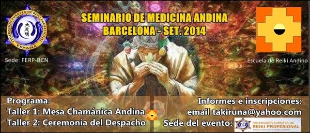 seminario andino bcn 2014