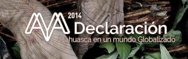 declaracion de ibiza ayahuasca 2014
