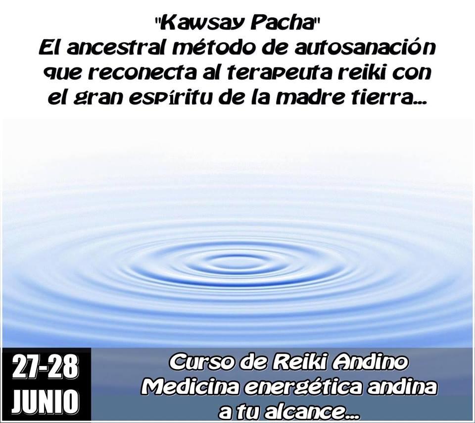 Curso de Reiki Andino en RANVVAI (Madrid) – Junio 2015