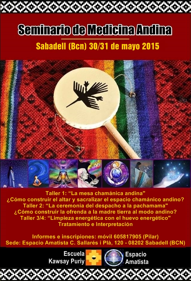 seminario de medicina andina bcn 2015