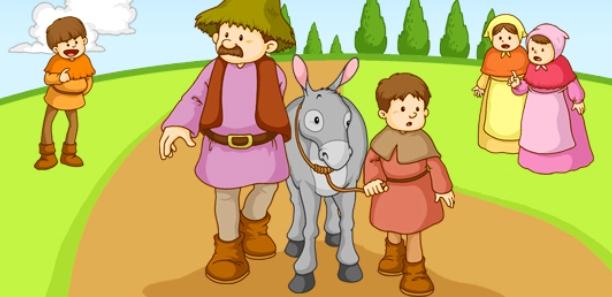 el-hombre-el-nino-y-el-burro