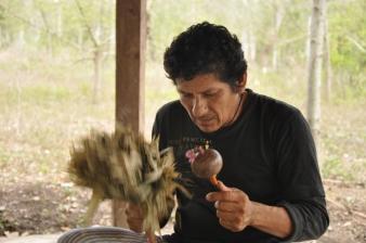Maestro ayahuasquero Don Hernán Saavedra