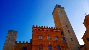 Palacio en San Gimignano