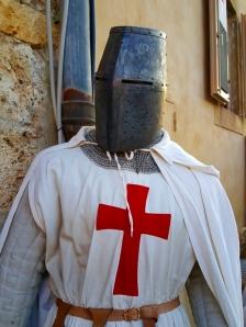 Caballero templario Monteriggione