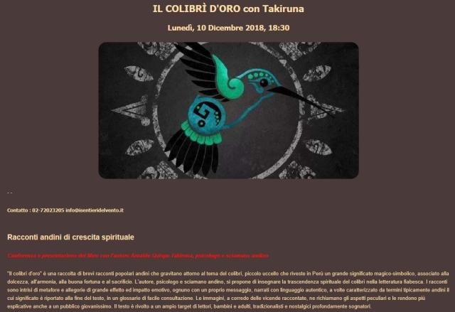 milano colibri