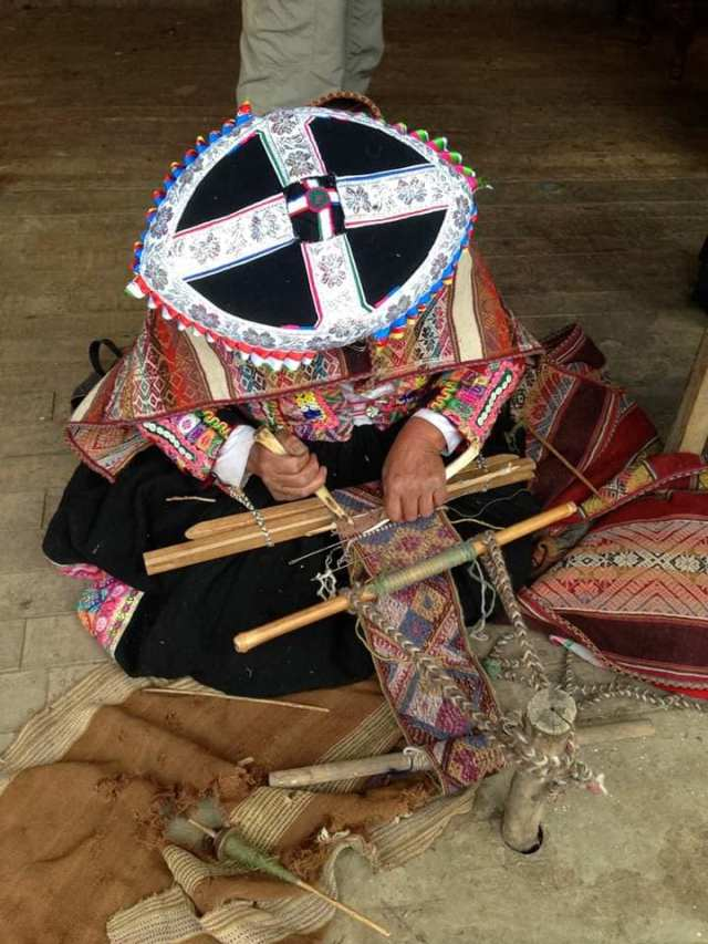 mujer andina